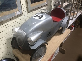 Antique Toy Roadster Pedal Car